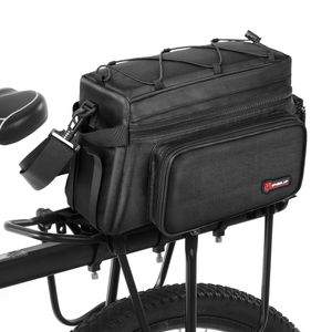 Fahrradkoffer 25L Fahrradtasche Wasserfeste Fahrradtasche mit Regenschutz Fahrradtasche
