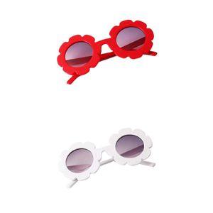 Vintage Sonnenbrille für Kinder und Baby, UV400 Jungen Mädchen Pilotenbrille Set, 2 Stück