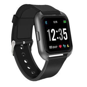 Technaxx Smartwatch TX-SW5HR schwarz, Farbe:Schwarz