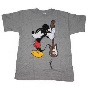 T-Shirt Mickey Mouse - Micky Maus - Guitar - Gitarre, Größe:S