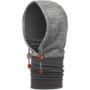 BUFF Polar Thermal Hoodie Kapuzen-Schlauchschal melange grey