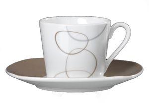 Alina marron Espressotassen - Set 12 tlg.