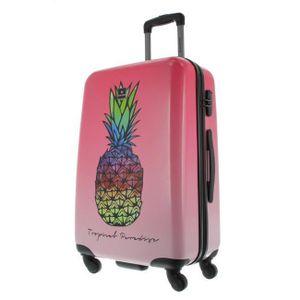 Saxoline Koffer Spinner mit Zahlenschloss 67 cm Gradient Pinapple Ananas