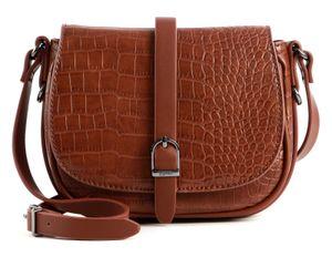 Esprit Susie kleine Umhängetasche Crossbag Satteltasche 090EA1O320, Farbe:Brown