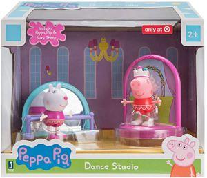 Peppa Wutz - Tanzstudio Spielset mit 2 Figuren