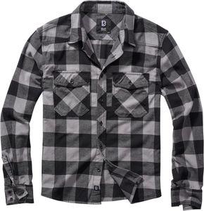 Brandit Checkshirt Männer Langarmhemd blau//rot//weiß   Casual Wear