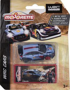 Majorette 212084012 WRC Edition, 4-fach sortiert