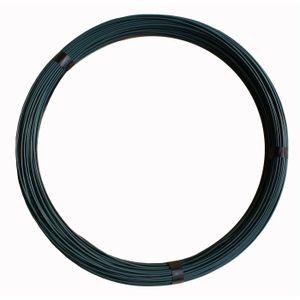 Bindedraht 2,0mm Durchmesser, PVC-ummantelt grün 25m lang