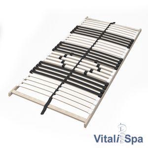 VitaliSpa 7-Zonen-Lattenrost 90x200cm Premium Härtegradverstellung Komfort