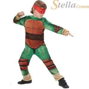 Rubies - Jungen Kostüm Teenage Mutant Ninja Turtle - klassischer Stil - Grün - L