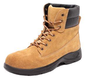 Herren Worker Boots Sicherheitsstiefel Sicherheitsschuhe Stiefel S1 echt Leder, Schuhgröße:EUR 42
