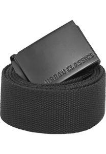 Urban Classics Gürtel Canvas Belts Black