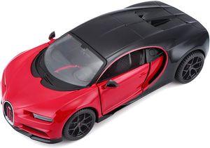 Maisto 31524 - Modellauto - Bugatti Chiron Sport (schwarz-rot, Maßstab 1:24)