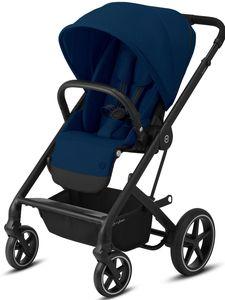 CYBEX Balios S Lux - Buggy , Cybex Kinderwagen Gestell:Black, Design::Navy Blue