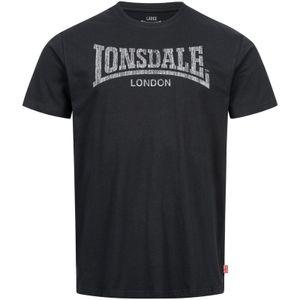 Herren T-Shirt normale Passform LOGO KAI Black 4XL Lonsdale
