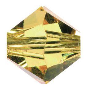 Swarovski-Perlen, Ø 4mm, 25 Stück Light Topas