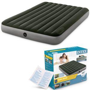 INTEX Luftbett 64763 King Size 152 x 203 x 25 cm Gästebett Fiber Tech™ Technology