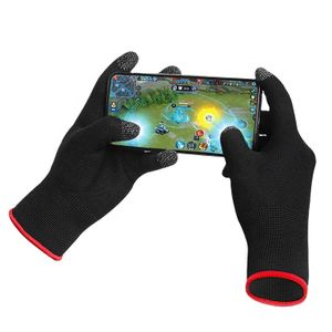 2 Gaming-Handschuhe für Controller, Smartphone & Tablet/besserer Grip & Touchscreen geeignet