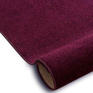 Einfarbiger Teppich Eton für Zimmer, Wohnzimmer, Schlafzimmer, Teppichboden Auslegware, Verschiedene Größen 300x400 cm lila