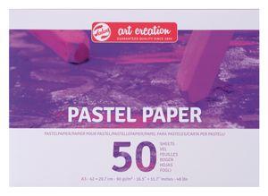 """Talens Art Creation """"Pastellpapier"""", 50 Blatt, 100 g/qm DIN A3"""