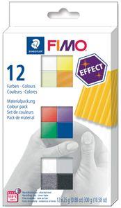 FIMO EFFECT Modelliermasse-Set 12er Set
