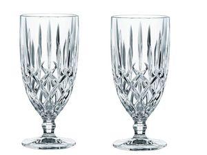 Nachtmann Vorteilsset 12 x  2 Glas/Stck Eisbecher/Eiscafé Pokal 617/40 Noblesse  102645 und Gratis 1 x Trinitae Körperpflegeprodukt