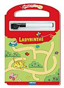 Trötsch Labyrinthe Schreib und Wisch Weg mit Stift: Übungsheft Lernheft Vorschule Grundschule (Schreib und Wisch Weg Lernhefte)