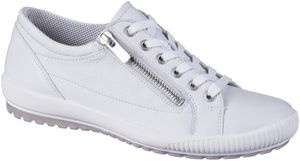 LEGERO Damen Leder Sneakers white, Comfort Weite G, Leder Fußbett