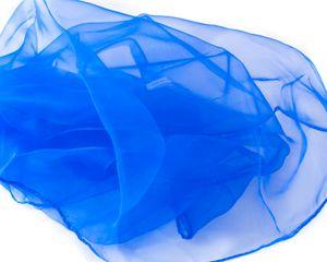 Jongliertücher 70 x 70 cm im 3er Pack - Set Jongliertuecher blau