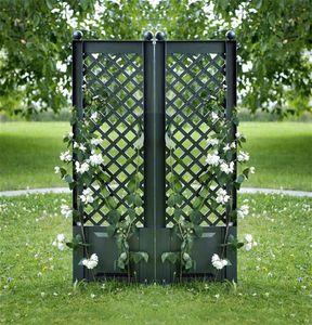 KHW Spalier / Rankgitter Kunststoff 43x140cm 2-er Set grün