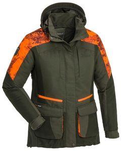 Pinewood 3676 Forest Camou Damen Jacke Moosgrün/Strata Blaze (721) L