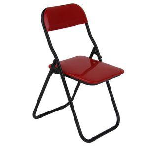 1:6 Actionfigur Möbel Roten Klappstuhl Für 12 inch Soldaten Figur Farbe rot