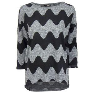 ONLY Damen Pullover Grau, Größe:L