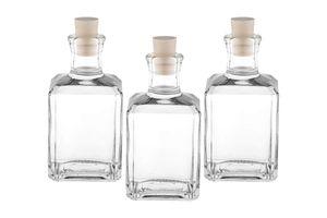 10 x 250ml Glas-Flaschen Mystic-SPI Leere zum abfüllen inklusiver Korken kleine Flaschen