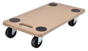 Transportbrett Transport Rollbrett Möbelroller mit 4 Lenkrollen bis 200kg 95018