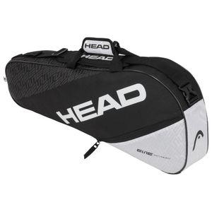 HEAD Elite 3R Pro Tennistasche Schwarz - Weiß