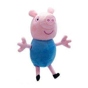 Auswahl Plüsch-Figuren | Peppa Wutz | Peppa Pig | 15 cm Softwool | Stofftiere, Figur:George Wutz