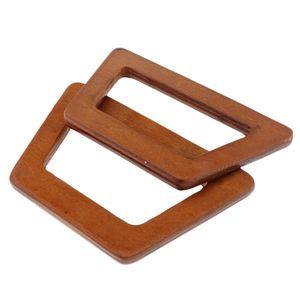 2 Stk. Holz Taschengriff Holzgriff Taschen Henkel Griffe DIY Taschengriffe Taschenhenkel für Tasche Handtasche Einkaufstasche