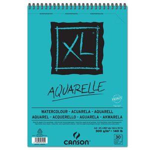 CANSON Skizzen und Studienblock XL Aquarelle DIN A4 30 Blatt