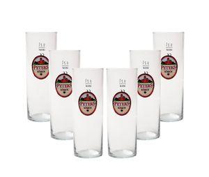 Peters Kölsch Gläser Biergläser 0,2L - 6 Stück