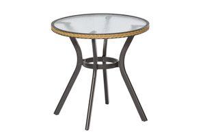 Merxx Tisch RAVENNA Ø 70 x H 74 cm, rund, natur  (28215-211)