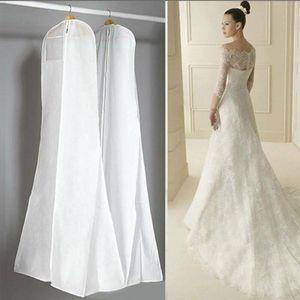 Atmungsaktiver Kleidersack Brautkleid Hochzeitskleid Abdeckung Schutzhülle Brautkleid Kleidersack Kleidungsstück Abdeckung Cover