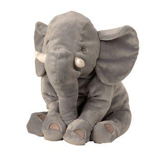 Kuschelig weicher Elefant Plüschtier seitlich liegend 50 cm Plüschbär Kuscheltier samtig weich