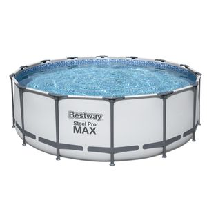 Bestway Steel Pro Max™ Frame Pool Komplett-Set, rund, 427x122cm, 5612X