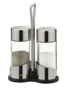 Tescoma Salz- und Pfefferstreuer I Salzstreuer aus Glas und Edelstahl als Set