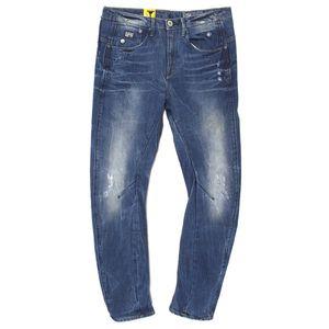 18008 G-Star, ARC 3D Tapered,  Damen Jeans Hose, Denim, blue vintage, W 26 L 30