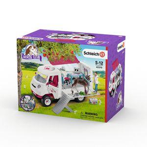 Schleich  Mobile Tierärztin mit Hannoveraner Fohlen; 42370