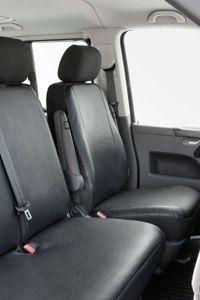 Walser Sitzbezüge für VW T4 Einzelsitz vorne aus Kunstleder BJ 10/1998 - 03/2003, 11470