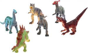 Johntoy Dinosaurier 6-Stücke 12 cm