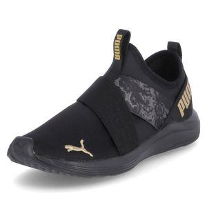 Puma Prowl Slip On Damen Sneaker in Schwarz, Größe 7.5